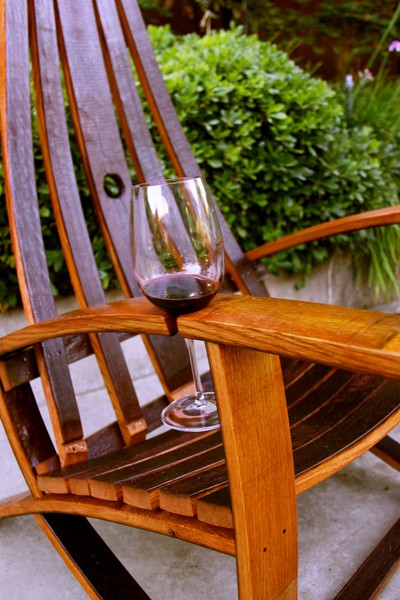 Pinteresting: Barrel Stave Chair