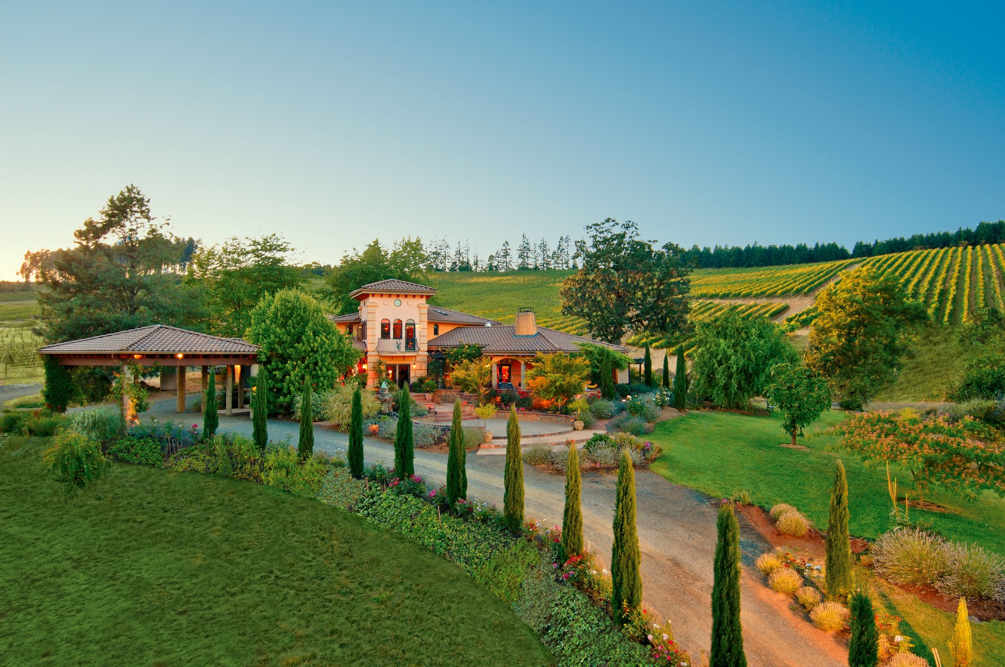 Pfeiffer Vineyards + King Estate = Vineyard Designate Divine Wine