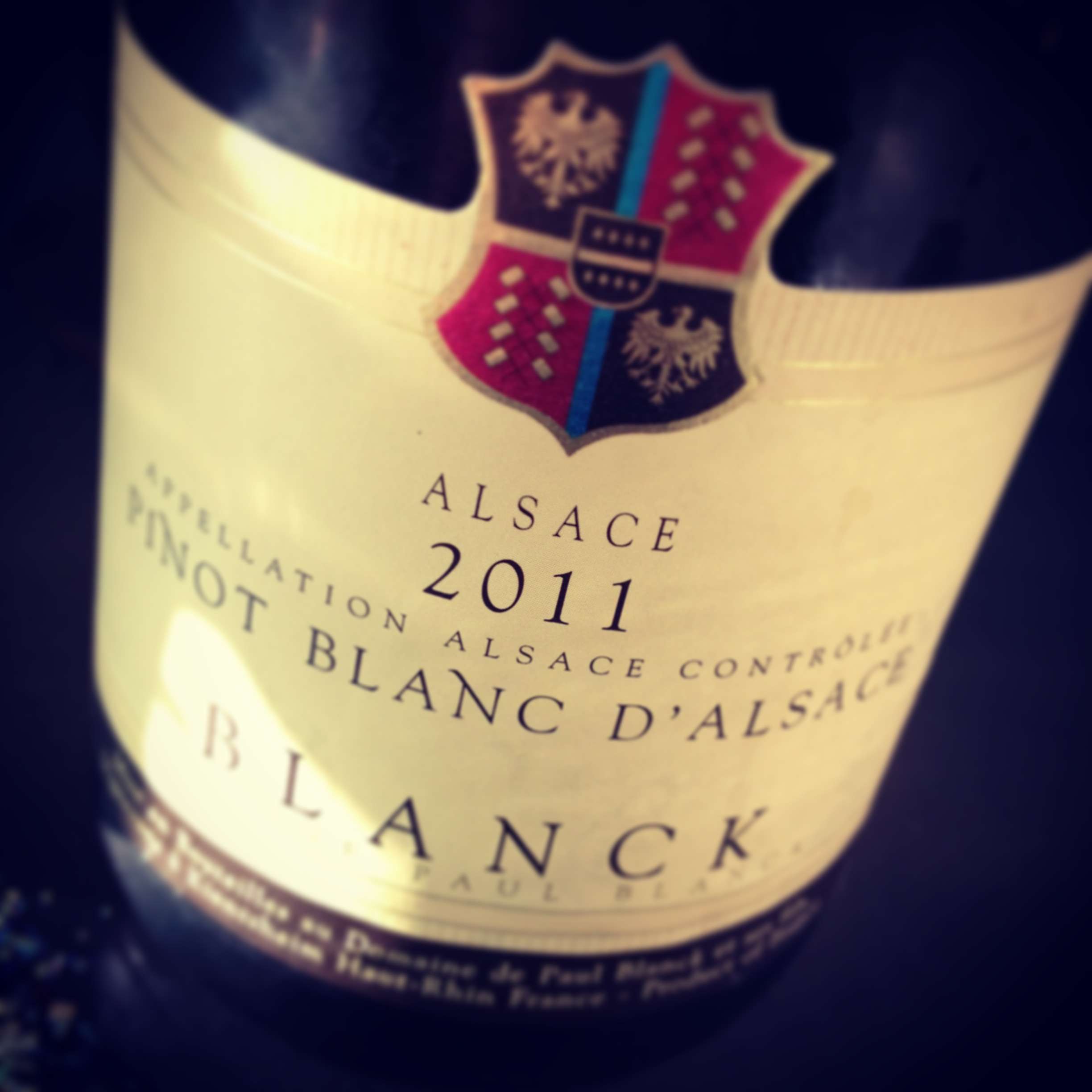 My 1/2 Day Vacation ~ Alsace Part I: Pinot Blanc