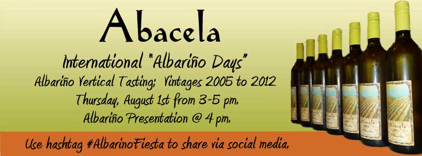 Abacela: Celebrate International Albariño Days
