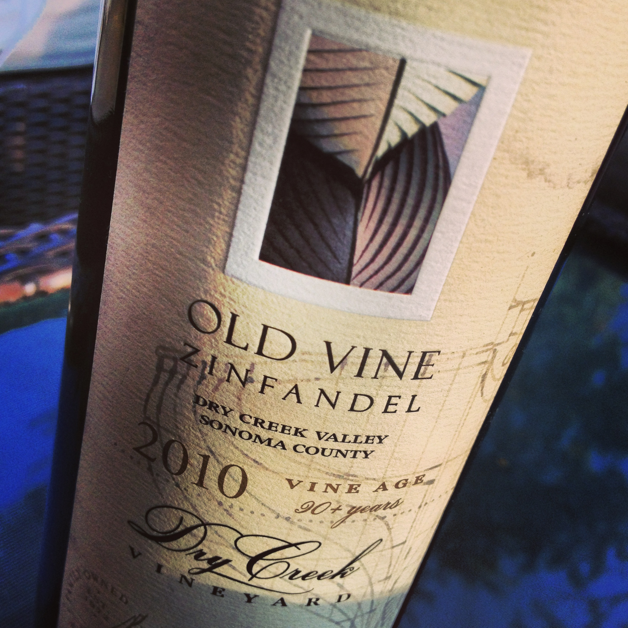 Pair This: Dry Creek Vineyard Old Vine Zinfandel 2010 with Bacon and Blue Cheese Steaks