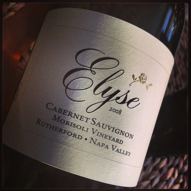 My 1/2 Day Vacation: Napa Valley via Elyse Winery