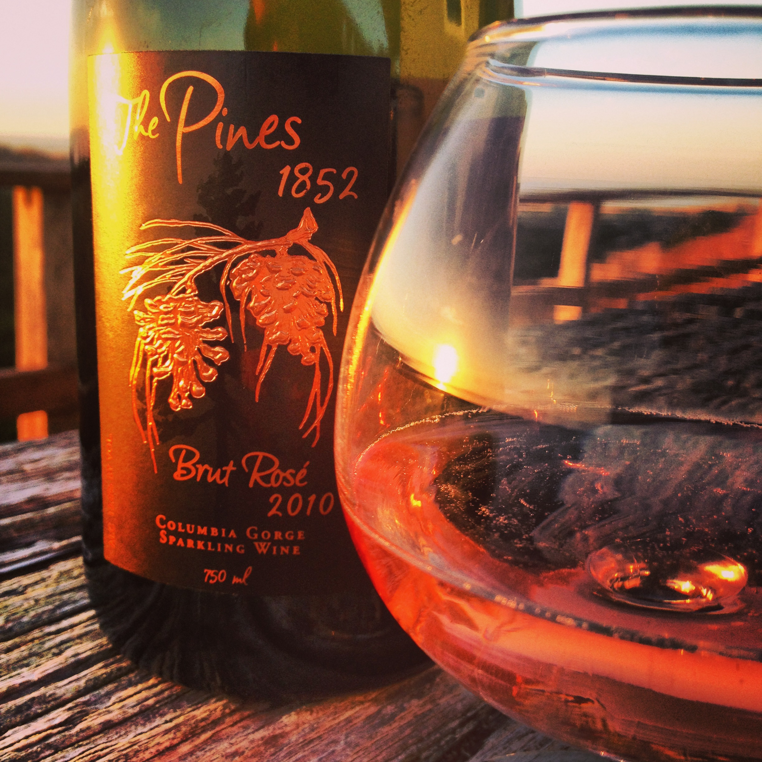 Pair This: The Pines 1852 Brut Rosé with a Pacific Coast Sunset