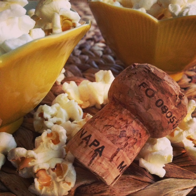 Valentine's Day Perfection: Brut Rosé and Popcorn for Two
