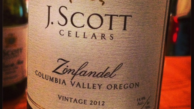 In The Glass: J. Scott Cellars Zinfandel 2012