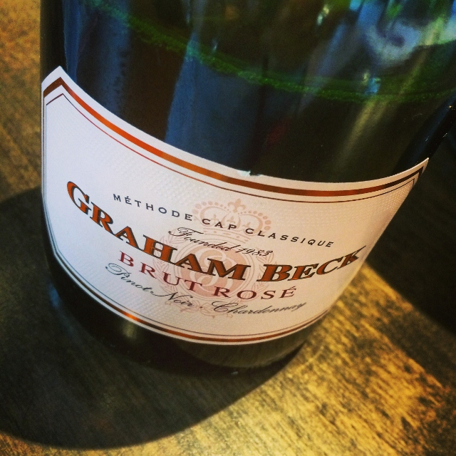 They have some Graham Beck wines to try in the tasting room alongside the Angela Estate wines