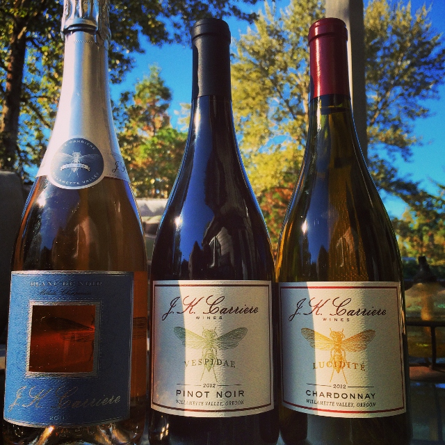 Three gorgeous wines from J.K. Carriere