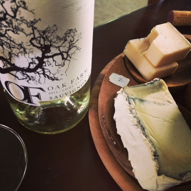 Oak Farm Sauvignon Blanc with Humboldt Fog