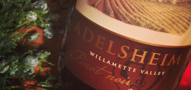 12 Days of Oregon Pinot Noir – Day 1: Adelsheim (and the Day of the Ice Storm)