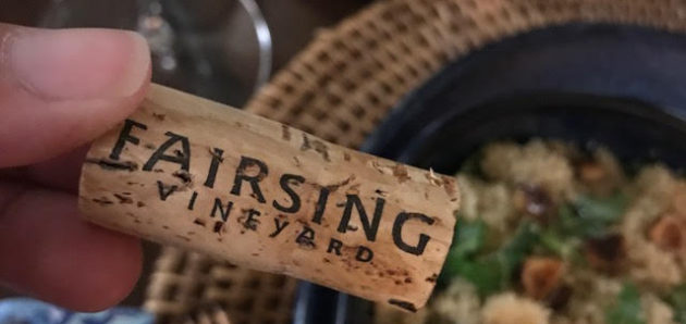 Pair This: Fairsing Chardonnay 2013 with Brown Butter Hazelnut & Arugula CousCous